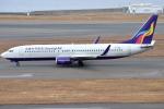 jun☆さんが、中部国際空港で撮影したウルムチエア 737-86Wの航空フォト(飛行機 写真・画像)