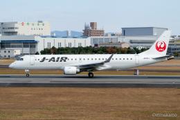 みなかもさんが、伊丹空港で撮影したジェイエア ERJ-190-100(ERJ-190STD)の航空フォト(飛行機 写真・画像)