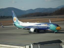 ヒコーキグモさんが、広島空港で撮影したノックエア 737-8FZの航空フォト(飛行機 写真・画像)