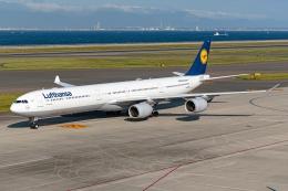 航空フォト:D-AIHP ルフトハンザドイツ航空 A340-600