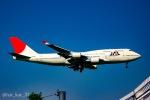 かっちゃん✈︎さんが、成田国際空港で撮影した日本航空 747-446の航空フォト(飛行機 写真・画像)
