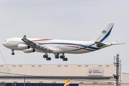 Ariesさんが、成田国際空港で撮影したスワジランド政府 A340-313の航空フォト(飛行機 写真・画像)