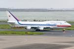 Ariesさんが、羽田空港で撮影した大韓民国空軍 747-4B5の航空フォト(飛行機 写真・画像)