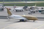 matsuさんが、フランクフルト国際空港で撮影したガルフ・エア 737-7CN BBJの航空フォト(写真)