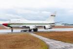 Ariesさんが、広島空港で撮影したオマーン・ロイヤル・フライト 747SP-27の航空フォト(飛行機 写真・画像)