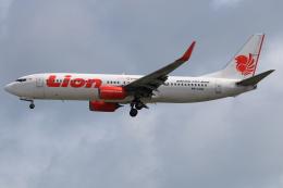 ★azusa★さんが、シンガポール・チャンギ国際空港で撮影したライオン・エア 737-8GPの航空フォト(飛行機 写真・画像)
