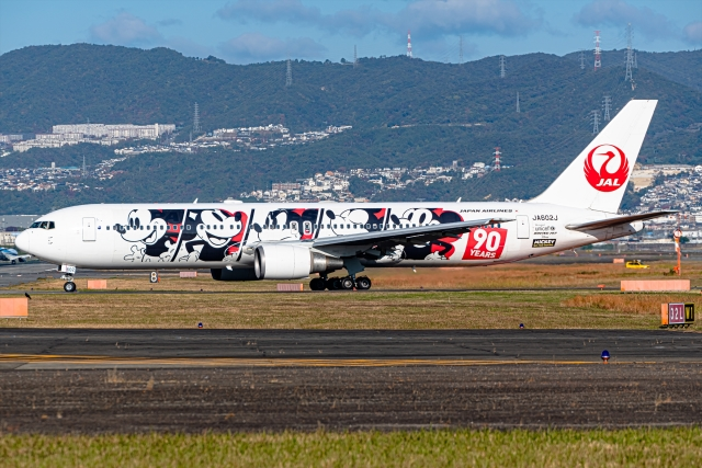 Ariesさんが、伊丹空港で撮影した日本航空 767-346/ERの航空フォト(飛行機 写真・画像)