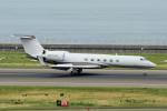 yabyanさんが、中部国際空港で撮影したウェルズ・ファーゴ・バンク・ノースウェスト G-V Gulfstream Vの航空フォト(飛行機 写真・画像)