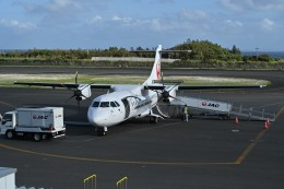nobu2000さんが、沖永良部空港で撮影した日本エアコミューター ATR-42-600の航空フォト(飛行機 写真・画像)