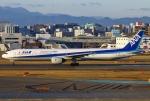 あしゅーさんが、福岡空港で撮影した全日空 777-381の航空フォト(飛行機 写真・画像)