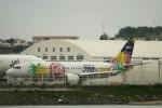 Mr.boneさんが、那覇空港で撮影したスカイネットアジア航空 737-4Y0の航空フォト(飛行機 写真・画像)