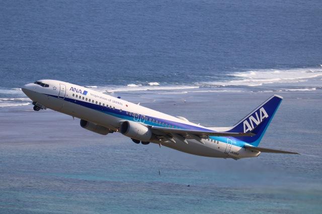 tmkさんが、新石垣空港で撮影した全日空 737-881の航空フォト(飛行機 写真・画像)