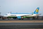 北の熊さんが、新千歳空港で撮影したウズベキスタン航空 A320-251Nの航空フォト(飛行機 写真・画像)