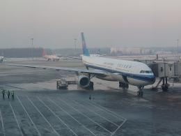 かろすけさんが、瀋陽桃仙国際空港で撮影した中国南方航空 A330-343Xの航空フォト(飛行機 写真・画像)