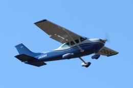 mogusaenさんが、調布飛行場で撮影した日本個人所有 182R Skylane IIの航空フォト(飛行機 写真・画像)