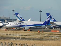 さんまるエアラインさんが、成田国際空港で撮影した全日空 A320-214の航空フォト(飛行機 写真・画像)