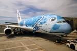 ☆ニヤン☆~激動の令和編~さんが、ダニエル・K・イノウエ国際空港で撮影した全日空 A380-841の航空フォト(飛行機 写真・画像)