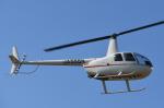 チャーリーマイクさんが、東京ヘリポートで撮影した日本法人所有 R44 Ravenの航空フォト(飛行機 写真・画像)