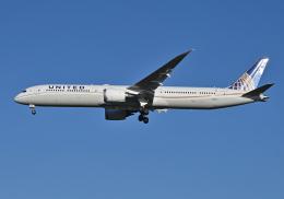 雲霧さんが、成田国際空港で撮影したユナイテッド航空 787-10の航空フォト(飛行機 写真・画像)