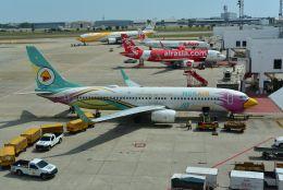 kotaちゃんさんが、ドンムアン空港で撮影したノックエア 737-86Jの航空フォト(飛行機 写真・画像)