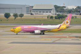 kotaちゃんさんが、ドンムアン空港で撮影したノックエア 737-86Nの航空フォト(飛行機 写真・画像)