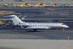 Espace77さんが、羽田空港で撮影したビスタジェット BD-700-1A10 Global 6000の航空フォト(飛行機 写真・画像)