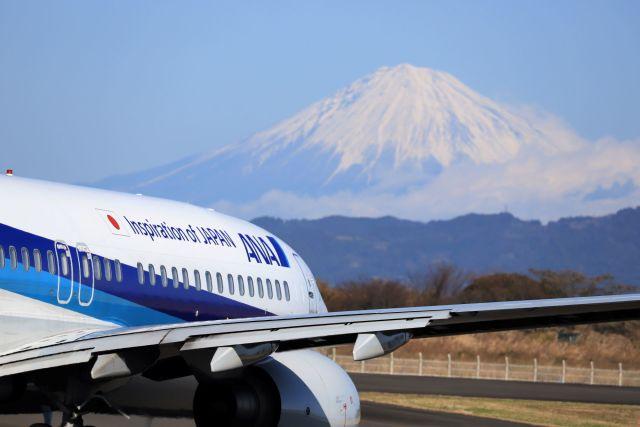 O-TOTOさんが、静岡空港で撮影した全日空 737-881の航空フォト(飛行機 写真・画像)