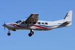 =JAかみんD=さんが、調布飛行場で撮影した朝日航空 208B Grand Caravanの航空フォト(飛行機 写真・画像)