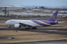 フレアー350さんが、仙台空港で撮影したタイ国際航空 777-2D7の航空フォト(飛行機 写真・画像)
