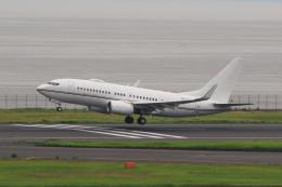 たまさんが、羽田空港で撮影したロイヤル・ジェット 737-77W BBJの航空フォト(飛行機 写真・画像)