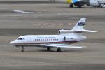 たまさんが、羽田空港で撮影したGovernment Air Transport Service Falcon 900Bの航空フォト(飛行機 写真・画像)