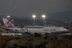 kikiさんが、台湾桃園国際空港で撮影したチャイナエアライン 747-409の航空フォト(飛行機 写真・画像)