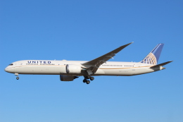 デルさんが、成田国際空港で撮影したユナイテッド航空 787-10の航空フォト(飛行機 写真・画像)