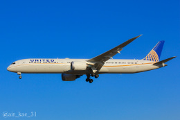 かっちゃん✈︎さんが、成田国際空港で撮影したユナイテッド航空 787-10の航空フォト(飛行機 写真・画像)