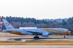 かっちゃん✈︎さんが、成田国際空港で撮影したノックスクート 777-212/ERの航空フォト(飛行機 写真・画像)