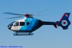 Chofu Spotter Ariaさんが、東京ヘリポートで撮影した中日新聞社 EC135P2の航空フォト(飛行機 写真・画像)