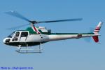 Chofu Spotter Ariaさんが、東京ヘリポートで撮影したアカギヘリコプター AS350B Ecureuilの航空フォト(飛行機 写真・画像)