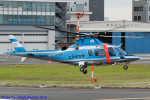 Chofu Spotter Ariaさんが、東京ヘリポートで撮影した北海道警察 A109E Powerの航空フォト(飛行機 写真・画像)