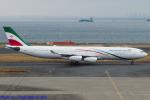 Chofu Spotter Ariaさんが、羽田空港で撮影したイラン・イスラム共和国政府 A340-313Xの航空フォト(飛行機 写真・画像)