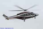 Chofu Spotter Ariaさんが、東京ヘリポートで撮影した日本個人所有 AW139の航空フォト(飛行機 写真・画像)