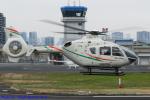 Chofu Spotter Ariaさんが、東京ヘリポートで撮影した日本個人所有 EC135P1の航空フォト(飛行機 写真・画像)