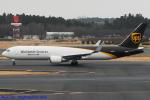Chofu Spotter Ariaさんが、成田国際空港で撮影したUPS航空 767-34AF/ERの航空フォト(飛行機 写真・画像)