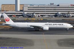 Chofu Spotter Ariaさんが、羽田空港で撮影した日本航空 777-346/ERの航空フォト(飛行機 写真・画像)