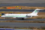 Chofu Spotter Ariaさんが、羽田空港で撮影したBANK OF UTAH TRUSTEE BD-700-1A10 Global 6000の航空フォト(飛行機 写真・画像)