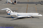 Chofu Spotter Ariaさんが、羽田空港で撮影したOジェッツ BD-700-1A10 Global 6000の航空フォト(飛行機 写真・画像)