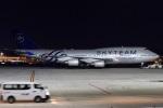 MOR1(新アカウント)さんが、福岡空港で撮影したチャイナエアライン 747-409の航空フォト(飛行機 写真・画像)