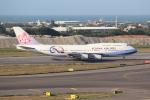OMAさんが、台湾桃園国際空港で撮影したチャイナエアライン 747-409の航空フォト(飛行機 写真・画像)