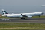 yabyanさんが、中部国際空港で撮影したキャセイドラゴン A330-343Xの航空フォト(飛行機 写真・画像)