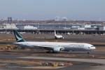 KAZFLYERさんが、羽田空港で撮影したキャセイパシフィック航空 777-367の航空フォト(飛行機 写真・画像)