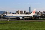 HLeeさんが、台北松山空港で撮影した中国国際航空 A330-243の航空フォト(飛行機 写真・画像)